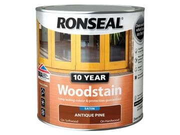 10 Year Woodstain Antique Pine 750ml